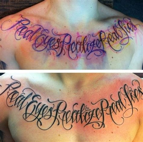 chest tattoo chesttattoo lettering tattoo pinterest