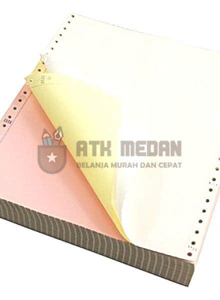 Kertas Neuro Continuous Form 91 2 X 11 3 Ply Polos harga kertas hvs warna ukuran f4 di medan atk medan