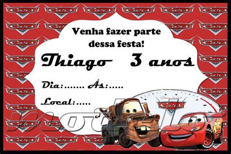 convite relampago mcqueen atelier gouveia elo7