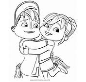Alvinnn And The Chipmunks Coloring Pages Pictures To Pin