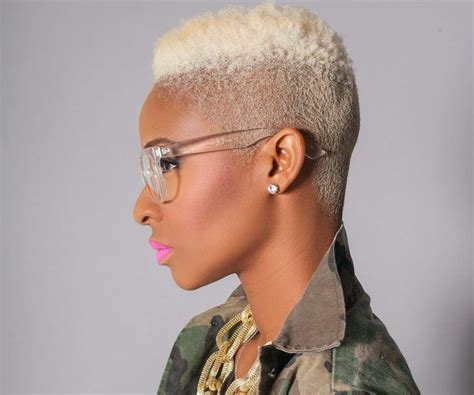 how to cut a natural box cut 20 creative short looks for natural hair styles weekly