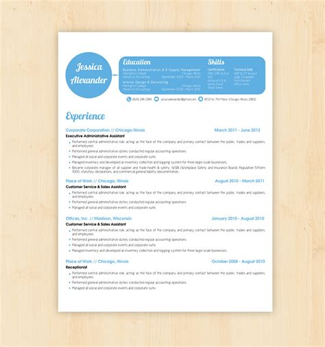 Business Resume Template Word by 70 Basic Resume Templates Pdf Doc Psd Free