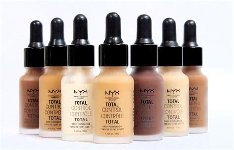 Nyx Total Drop nyx total drop foundation review swatches