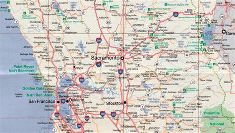 map san francisco to napa valley lake tahoe and san francisco