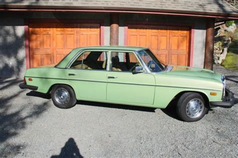 Electric Cars For Sale On Vancouver Island Mercedes 300d W115 For Sale Photos Technical