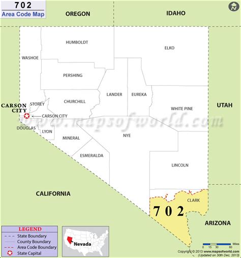 Area Code 702 Lookup 702 Area Code Map Where Is 702 Area Code In Nevada