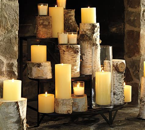 fireplace display 15 great ideas of decorating with candles