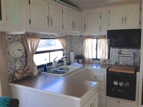 Decorating Ideas For My Rv Renovating Our 5th Wheel Cer A Diy Follow The High