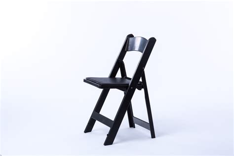 black resin chair rental encore events rentals