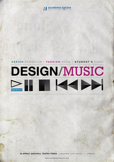 design poster music 26 graphically inspiring poster designs design graphic