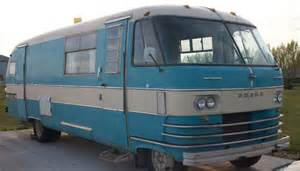 beautiful 1964 dodge travco motorhome who goes by myrtle