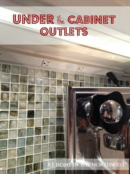 under cabinet plug strips kitchen under the cabinet outlets kitchen pinterest