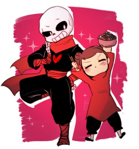 V Anime Collaboration Femme by Sans Frisk Pucca Collaboration By Coffeelsb On Deviantart