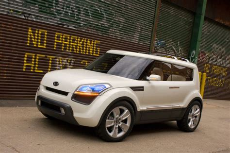 Kia Soul Pearl White Photo Kia Soul Concept Concept Car 2005 M 233 Diatheque