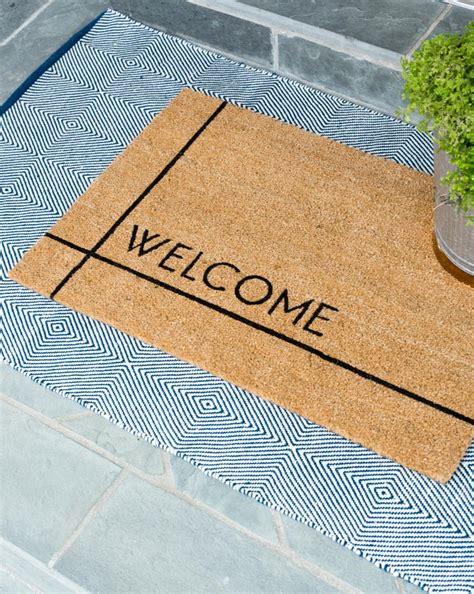 Doormat Modern by Modern Welcome Doormat Mcgee Co