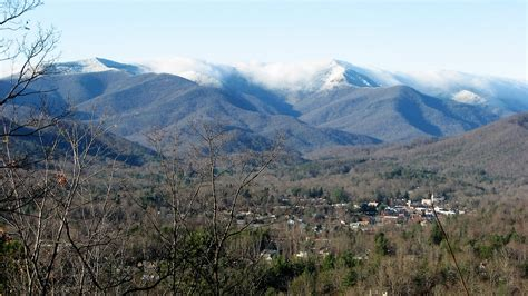 Back To Mountain by Black Mountain And Swannanoa Carolina The