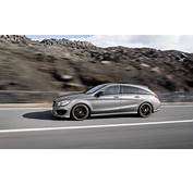 Mercedes CLA Shooting Brake Almost As Big The C Class