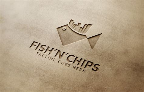 fish and chip shop menu template fish n chips logo template by thelionstudios graphicriver