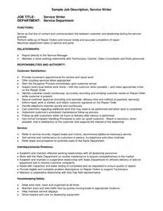 Service Writer Resume by Resume Writers Services