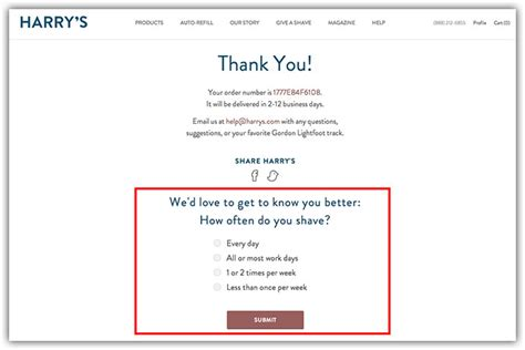 thank you page template how to create the thank you page an epic guide