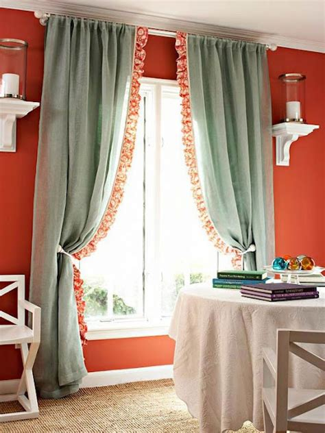 curtains diy window treatments diy curtain trim curtains pinterest