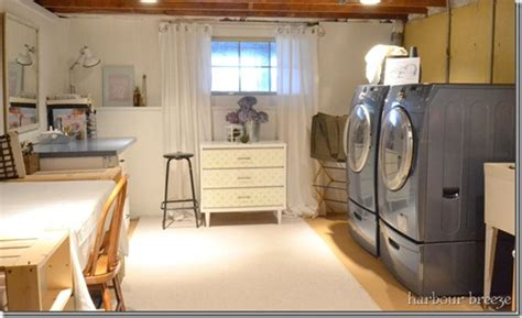 basement laundry room makeover home sweet home on a basement finish their basements diy