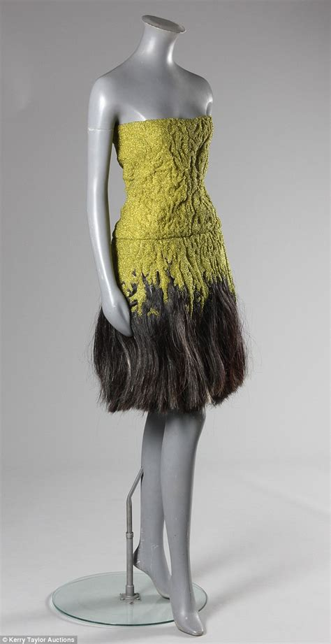 Dress made by Alexander McQueen for his muse Isabella Blow   both of whom killed themselves   to