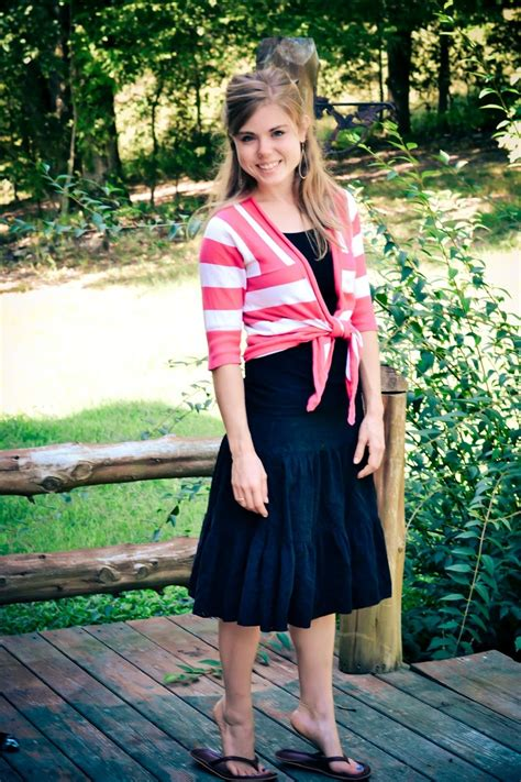 Fashion Dress Models Modest fresh modesty stripes for thursday my modest style 1 you layering and