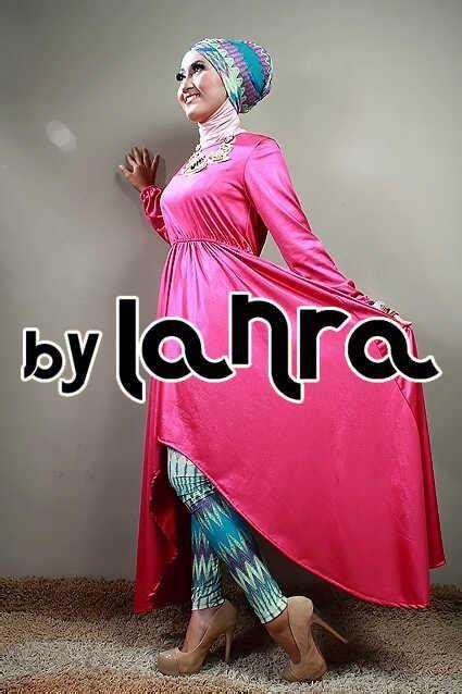 Pakaian Muslim Murah Baju Muslim Pink Peplum Tribal Set 3in1 shop baju tribal hairstylegalleries