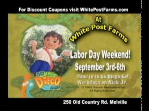 diego visits white post farms youtube