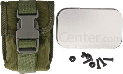 esee 5 molle back and pouch esee knives esee 5 and esee 6 accessory pouch olive drab