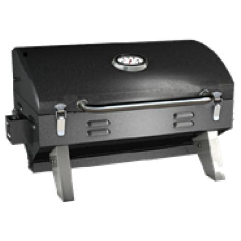 Propane Pit Grill Portable Gas Grill With Carrying Bag Black Aussie Grills