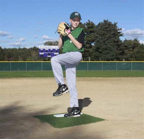 backyard pitching mound promounds portable baseball pitching training mound green