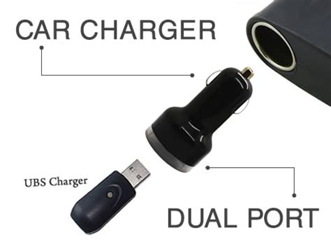 Hippo Car Charger Phantom 3 Port Usb Dc 5 V55a Simple Pack electronic cigarette accessories universal dual port usb car charger