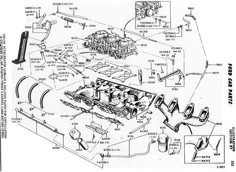 ford v8 engine diagram image 91