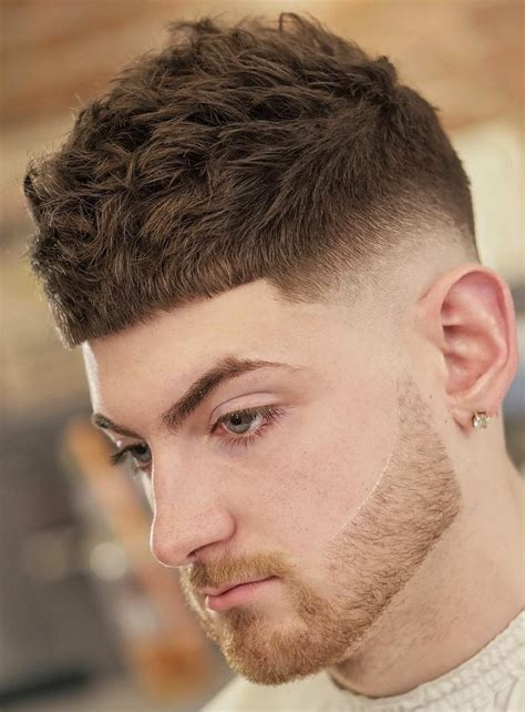men u0027s hairstyles mens hairstyles short fringe the