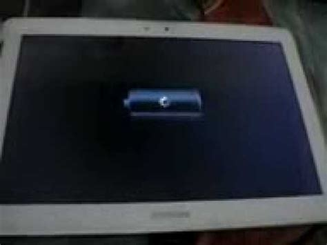 resetting tablet battery samsung galaxy tab 2 10 1 wont charge and turn on youtube