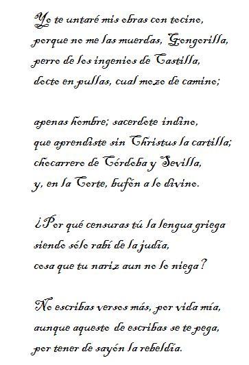 versos de quevedo an 225 lisis literario del soneto de quevedo yo te untar 233 mis