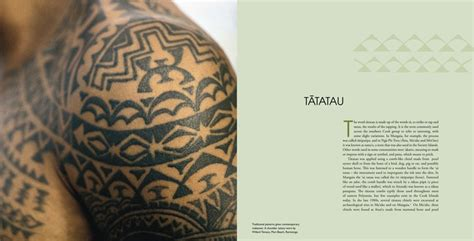 cook island tattoo designs and meanings patterns of the past revival in the cook islands
