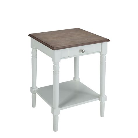 convenience concepts country end table convenience concepts country end table with drawer