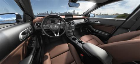 brown leather seats mercedes 2018 mercedes gla color options