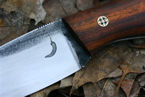 logo knives knifemaking tutorial etching the logo on steel