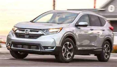 honda crv exl awd 2018 honda crv exl awd car us release