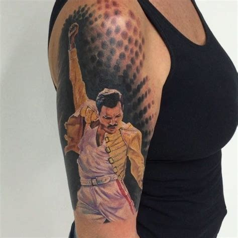 freddie mercury tattoo 12 showstopping freddie mercury tattoos tattoodo