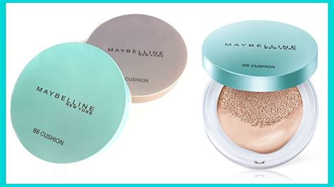 Maybelline Bb Cushion Dewy ep5 compare new maybelline fresh matte cushion vs bb cushion review demo