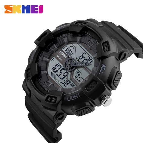 Skmei Jam Tangan Digital 2 skmei jam tangan digital analog pria 1189 black jakartanotebook