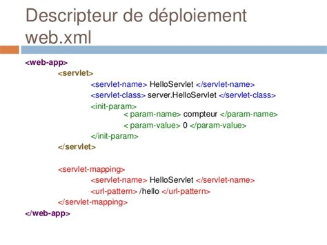 jsp url pattern web xml servlets et jsp