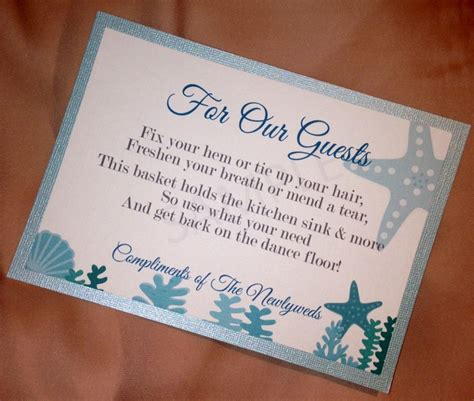 poem for bathroom basket at wedding reception sign for the bathroom quot emergency quot basket wedding ideas