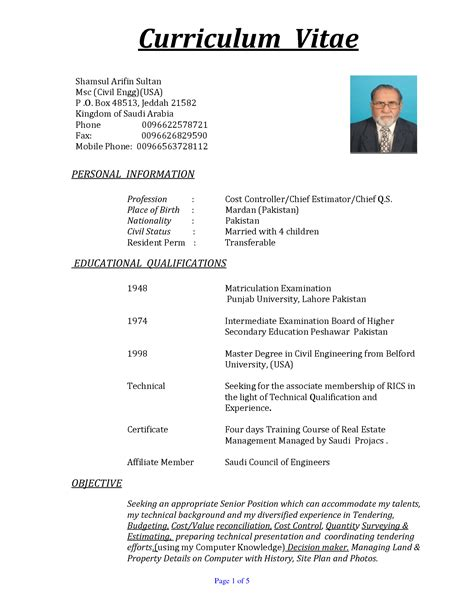 cv exle usa 81 images how to write cv usa image