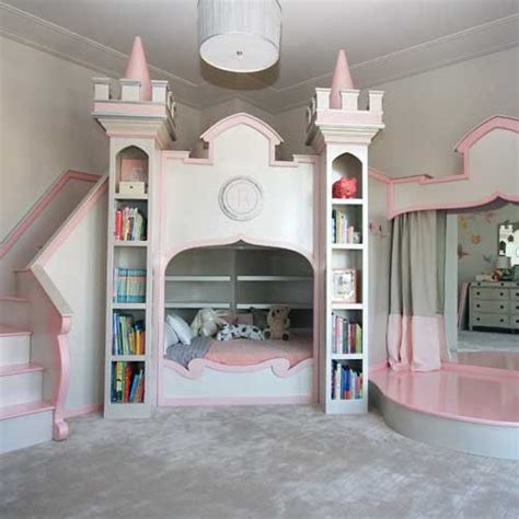 Bunk Beds For Small Rooms Princess Ballerina Castle Bed And Luxury Baby Cribs In
